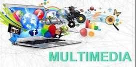 Multimedia training and job in mangalore