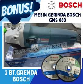 Bonus batu bosch asli mesin gerinda grinda bosch GWS 060