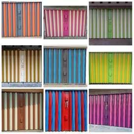 Folding Gate (Rolling Door) Royal Abadi bahan BAJA bukan kaleng-kaleng