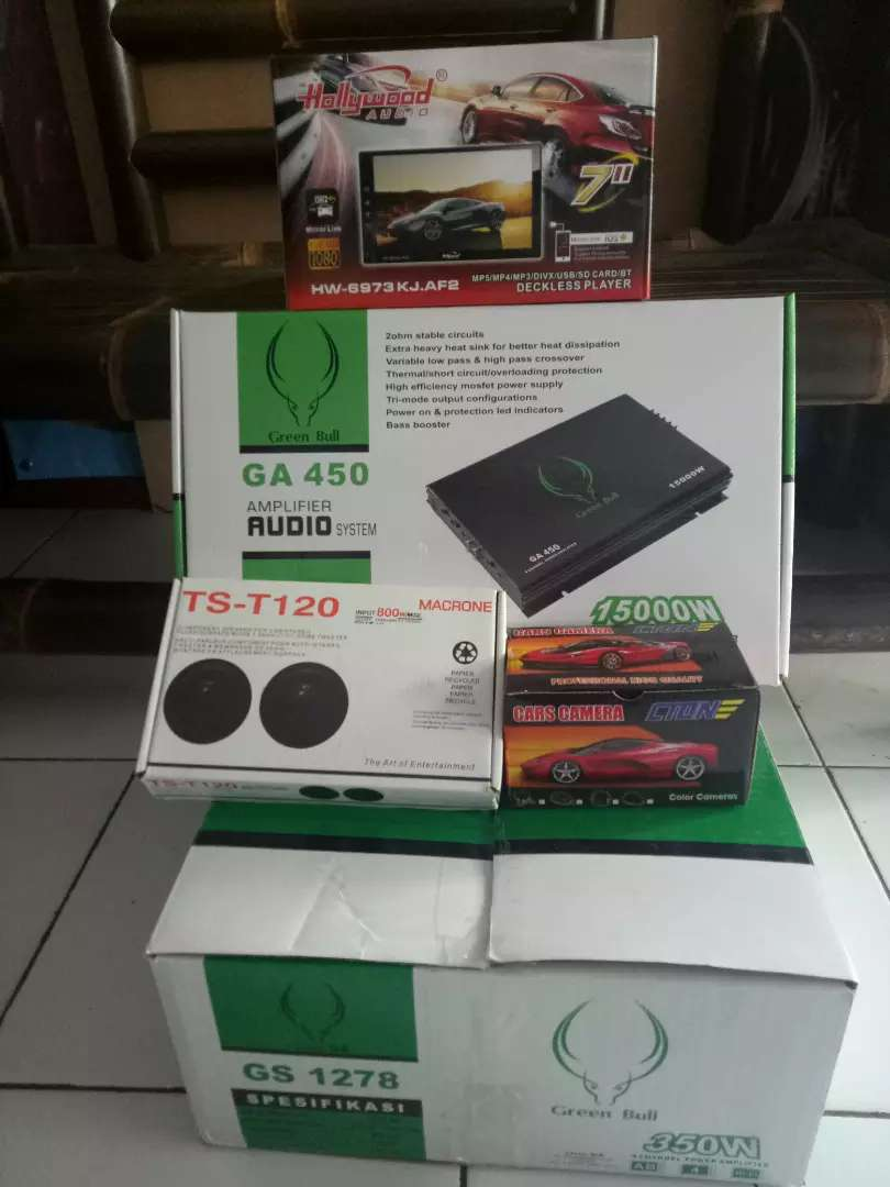 Paket audio mobil 0