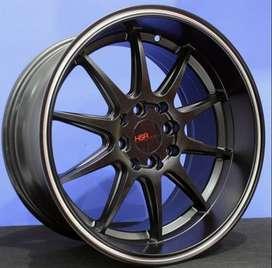 JUAL VELG HSR R16 FOR JAZZ RS , BRIO , COROLLA , HONDA CITY