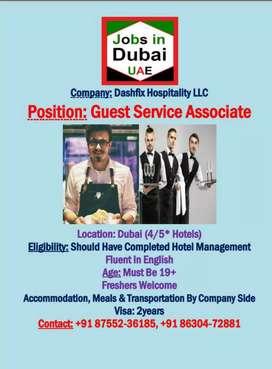 Guest Service Associate