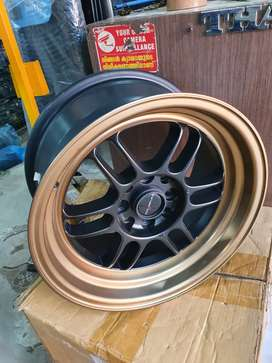 """15"""" 8j SWIFT alloy wheels"""