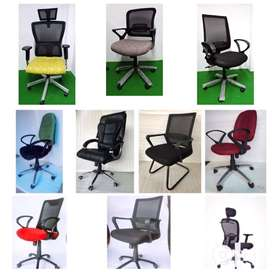 PUSHBACK CHAIRS -HIGH MEDIUM AND LOW BACK CHAIRS
