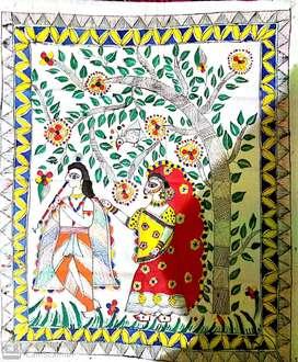 Madhubani painting for home decoration