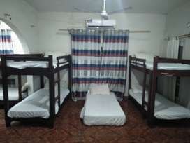 hostel for boys and girls both are seperate