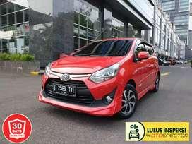 [Lulus Inspeksi] Toyota Agya 1.2 TRD Sportivo AT 2019. NIK 2018 KM 4rb