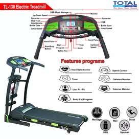 Treadmill elektrik auto incline