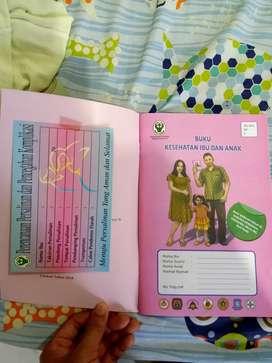 Buku kontrol Hamil Ibu Dan perkembangan Anak