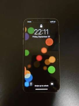 Apple Iphone x 256GB Silver with Box And Accessories Non PTA