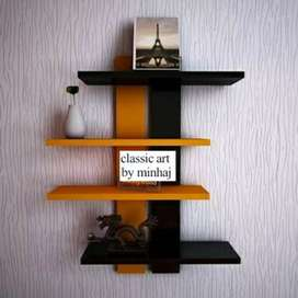 Wall rack two tone