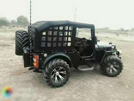Modify fully off roading Jeep