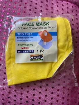 N95 Face Washable Mask with Filter .