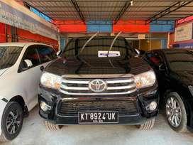Toyota Hilux Type G Tahun 2018 Hitam Manual 4x4