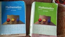 Rd sharma mathematics volume 1 and 2