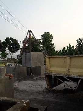 Sepitenk beton , tandon air beton..bus beton