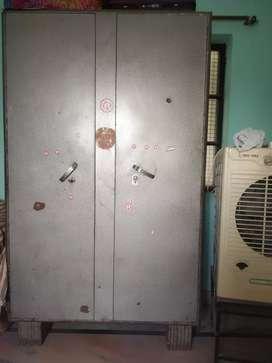 Spacious double door steel cupboard