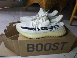 Sepatu Adidas Yezzy Boost 350 V2 White
