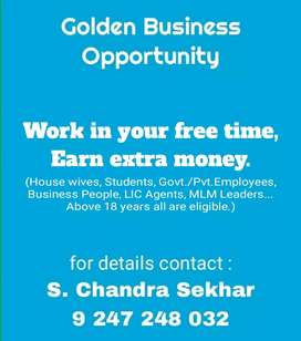 Work in your free time, Earn extra amount.