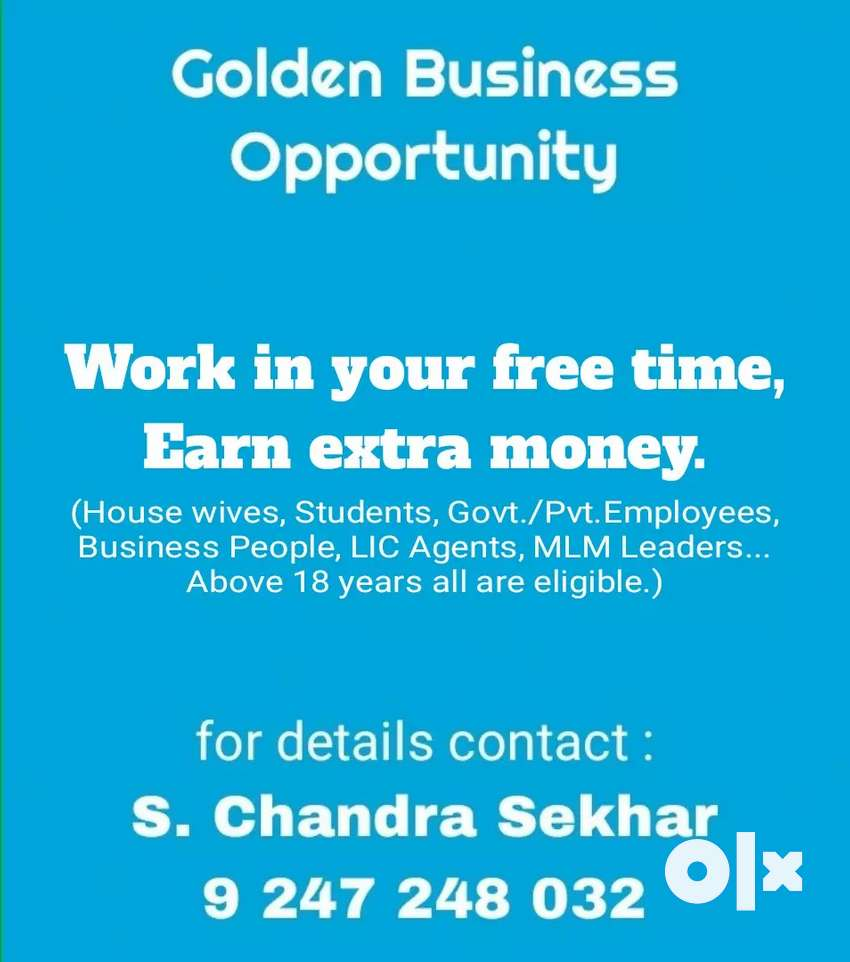 Work in your free time, Earn extra amount. 0