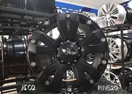 Velg Mobil Offroad R20 JT02 HSR Ring 20 Lubang 5X114,3 Rush Captiva
