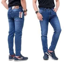 Celana Jeans Skinny Stretch Jeans Pria Size 27-38 (Bisa COD)
