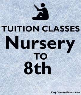 Online tuition available for std 1st to 8th with all subjects