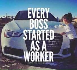 Dicari staff admin, dan sales engineer