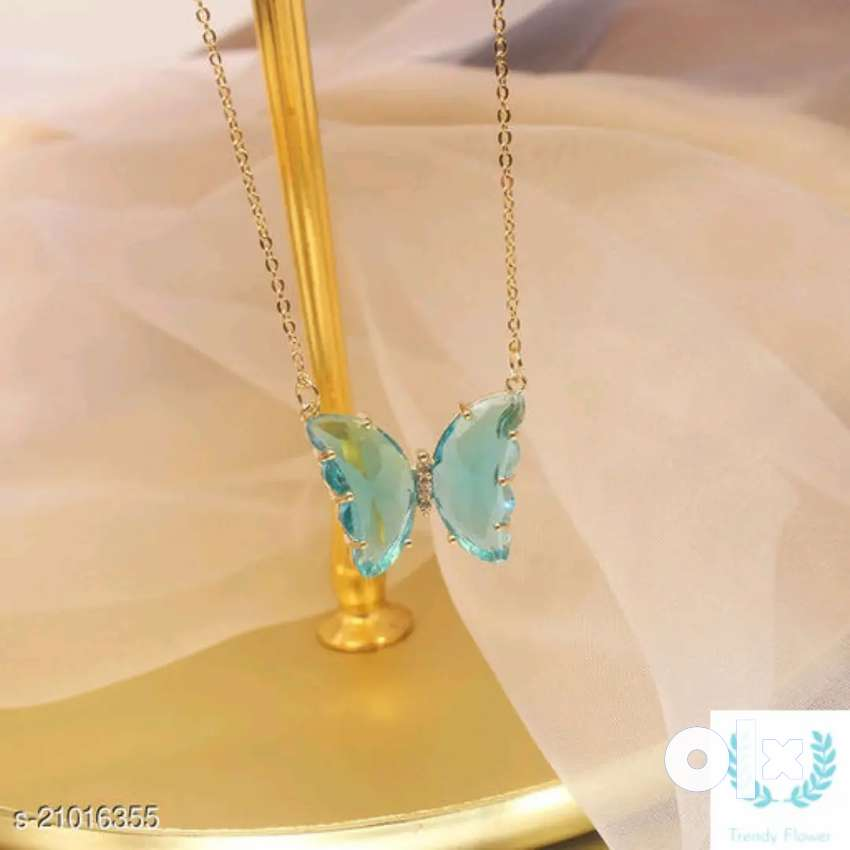 Woman butterfly chain
