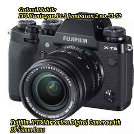 Fujifilm X-T3 Mirrorless Digital Camera with 18-55mm Lens bisa Kredit
