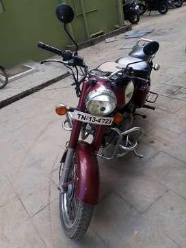 Classic 350 New battery, new tyre. Singel owner, chennai reg.