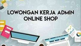 Lowongan Kerja Loker Admin Online Shop Olshop
