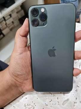 Iphone 11 pro max 256gb Modnight Green