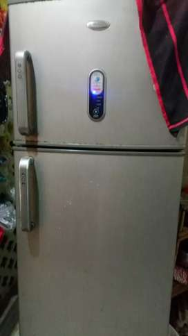 It is a double door fridge.it is in good condition.