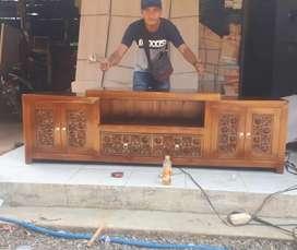 "Bufet minimalis bahan jati produk""sanggar jati""/022"