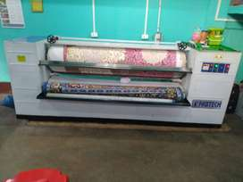 Saree rolling and polishing machine  age-2yrs only
