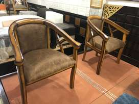 Wooden chairs with warrenty brand new