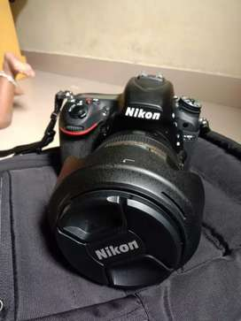 Nikon D750 only 6 month used 24 - 120 lens..