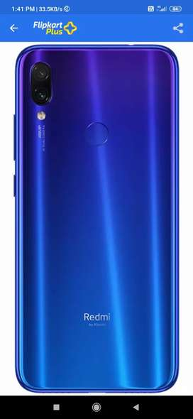 Redmi note 7 pro 4/64 gb 8month old g