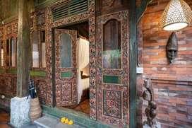 Disewakan Villa Joglo Klasik Bunutan Ubud
