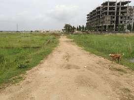 Gharabadi plot for sale at Hanspal