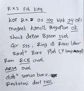 Rxs full king 10%