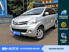 [OLX Autos] Toyota Avanza 2015 1.3 G M/T Silver #Mamin Motor