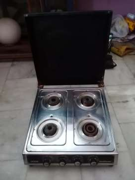 4 burner sunflame gas 2 year old