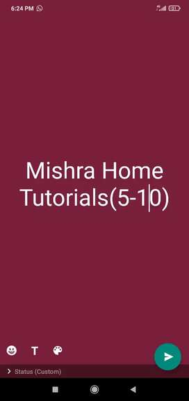 Mishra Home Tutorials