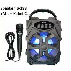 Speaker bluetooth plus Mic Bisa Karaoke