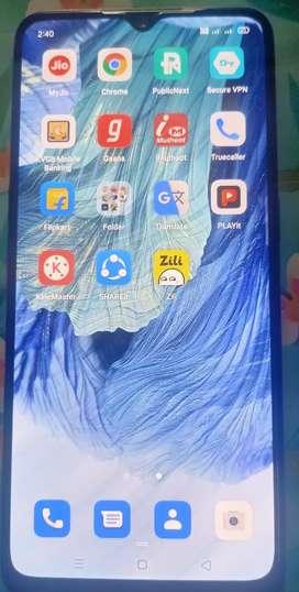 Oppo f17 6gb ram 128 GB internal only 6 month use