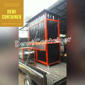 BOOTH PORTABLE/BOOTH SEMI CONTAINER/BOOTH BOBA