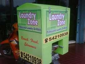 box delivery warna hijau,box antar makanan,pabrik box antar londry