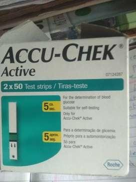 Accu- Check Active( Test strips)
